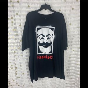 Mr Robot Graphic Loot Crate Exclusive Tshirt